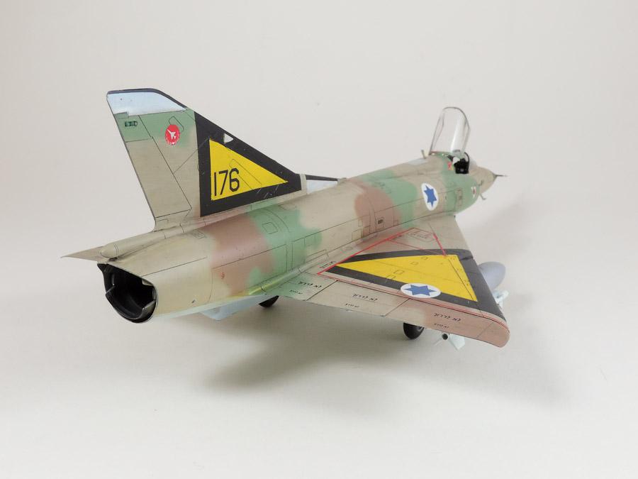 Avion - Eduard, 1/48 Mirage IIIC IAF DSCN5065