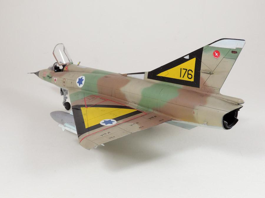 Avion - Eduard, 1/48 Mirage IIIC IAF DSCN5066