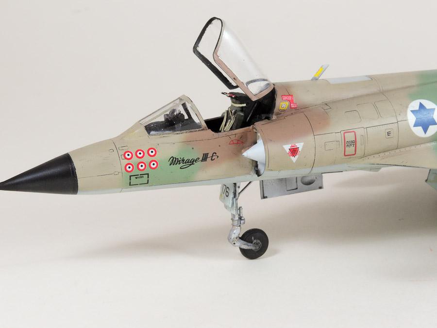 Avion - Eduard, 1/48 Mirage IIIC IAF DSCN5067