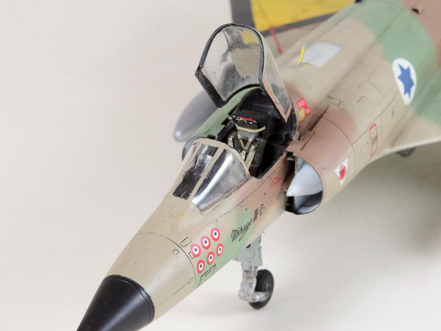 Avion - Eduard, 1/48 Mirage IIIC IAF DSCN5068