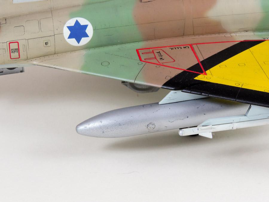 Avion - Eduard, 1/48 Mirage IIIC IAF DSCN5069