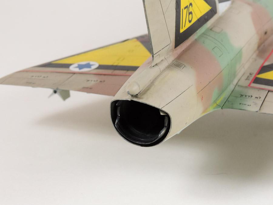 Avion - Eduard, 1/48 Mirage IIIC IAF DSCN5070