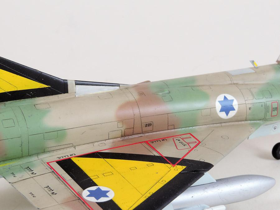 Avion - Eduard, 1/48 Mirage IIIC IAF DSCN5071