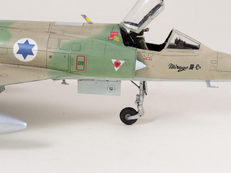 Avion - Eduard, 1/48 Mirage IIIC IAF DSCN5072