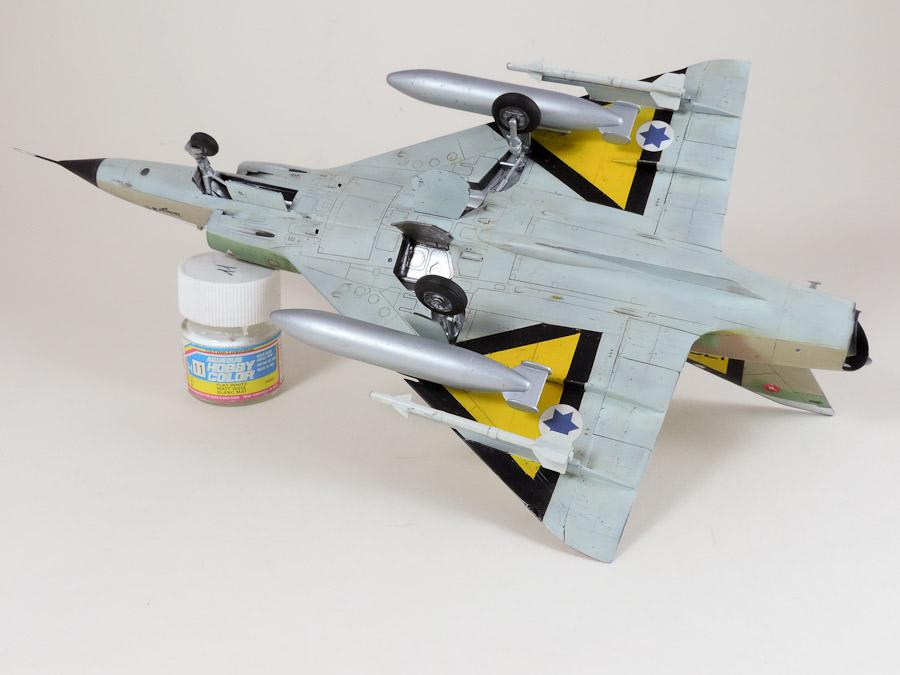 Avion - Eduard, 1/48 Mirage IIIC IAF DSCN5075