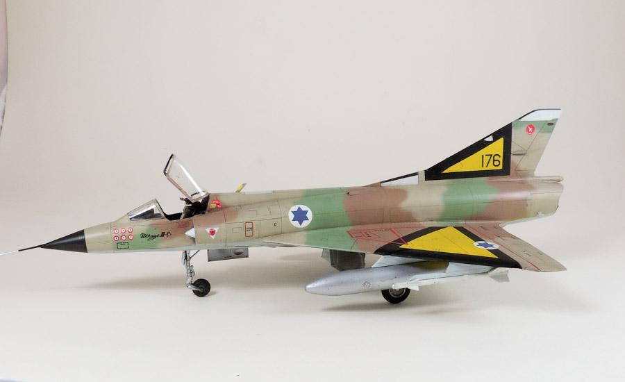 Avion - Eduard, 1/48 Mirage IIIC IAF DSCN5079