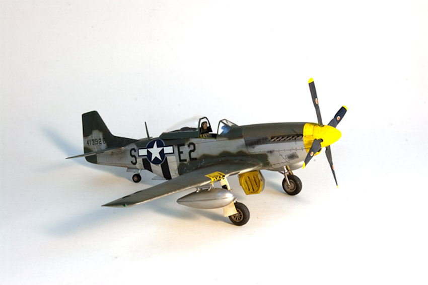 Avion - P-51 Mustang - Tamiya, 1/48 IMGP1457