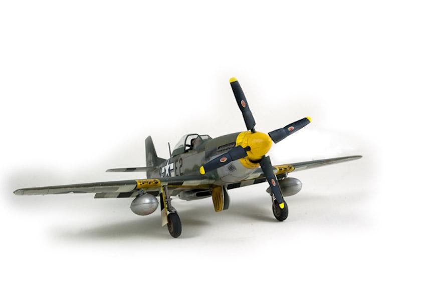 Avion - P-51 Mustang - Tamiya, 1/48 IMGP1461