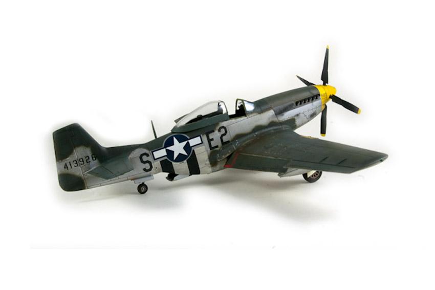 Avion - P-51 Mustang - Tamiya, 1/48 IMGP1463