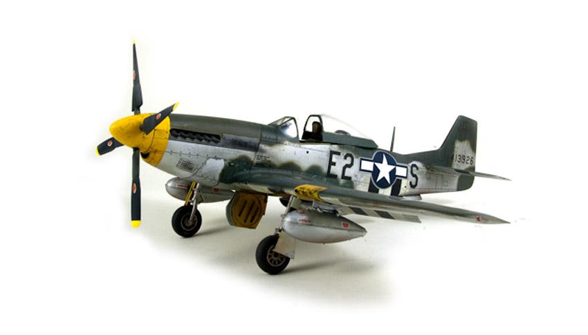 Avion - P-51 Mustang - Tamiya, 1/48 IMGP1466