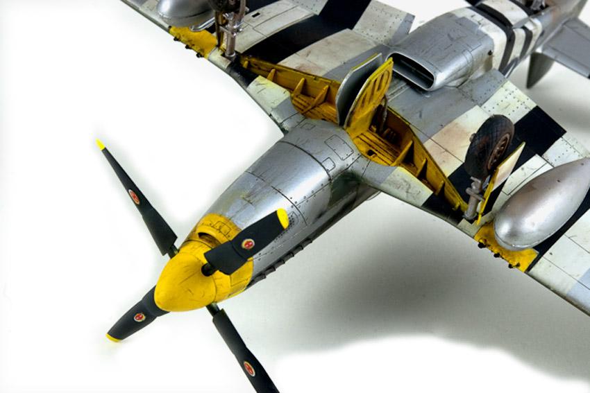 Avion - P-51 Mustang - Tamiya, 1/48 IMGP1471