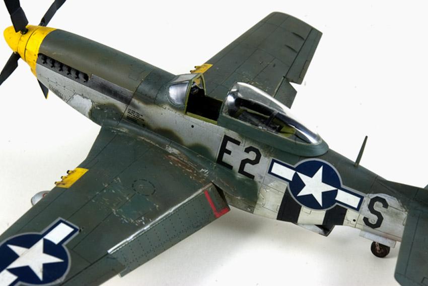Avion - P-51 Mustang - Tamiya, 1/48 IMGP1473